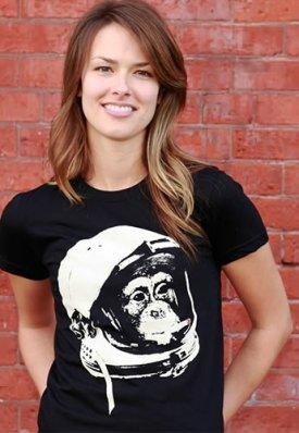 cold war vet monkey astronaut tee Monkey Astronaut Cold War Vet T Shirt