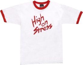 high on stress tshirt Revenge of the Nerds High on Stress T Shirt