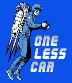 one less car tshirt One Less Car T Shirt