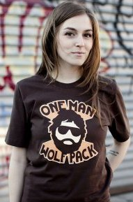 one man wolf pack tshirt The Hangover One Man Wolf Pack T Shirt