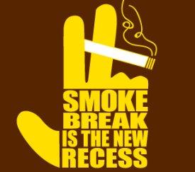 smoke break is the new recess tshirt Smoke Break is the New Recess T shirt