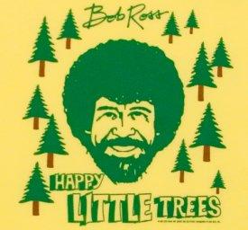 bob ross happy little trees tee shirt Happy Little Trees Bob Ross T shirt