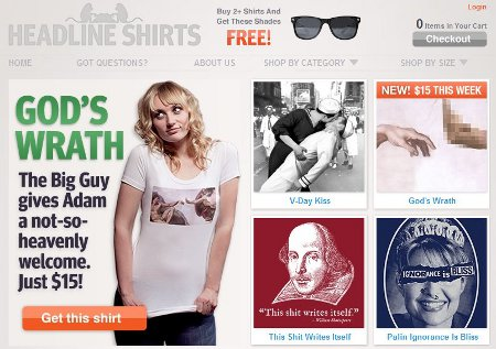 headline shirts Funny T shirt Shop Reviews