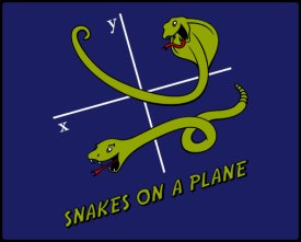 snakes on a plane t shirt Snakes on a Plane Tshirt