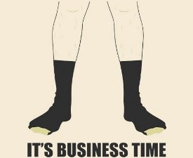 its business time tshirt Flight of the Conchords Its Business Time Tshirt