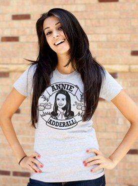 annie adderall community tshirt Community Annie Adderall T shirt