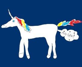 magic unicorn fart tshirt1 Magic Unicorn Fart Tshirt