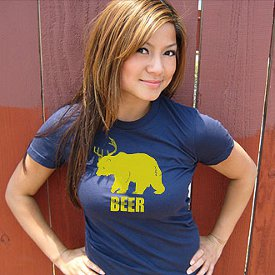 bear plus deer equals beer t shirt Bear Plus Deer Equals Beer T Shirt