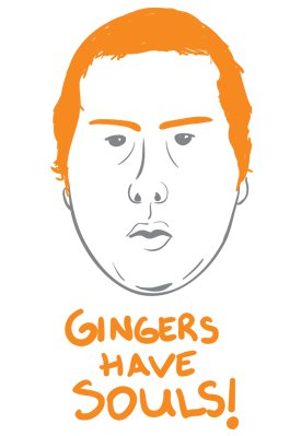 gingers have souls tshirts Gingers Have Souls YouTube Tshirt