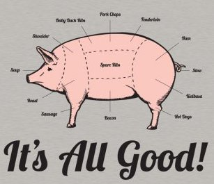 its all good pork pig parts tshirt Its All Good Pork Pig Parts Tshirt
