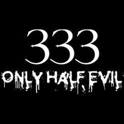 333 only half evil tshirt Best Halloween T Shirts
