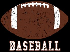 baseball football t shirt Baseball Football T Shirt