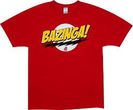 bazinga big bang theory t shirt Bazinga Big Bang Theory Sheldon Cooper T Shirt
