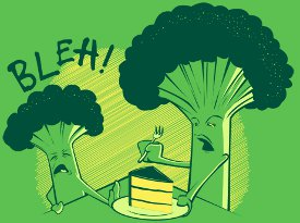 bleh broccoli eats cake t shirt Bleh Broccoli Eats Cake and Doesnt Like It T Shirt