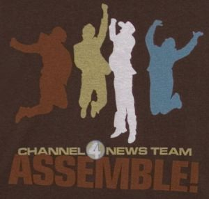 channel 4 news team assemble t shirt Best Anchorman T Shirts