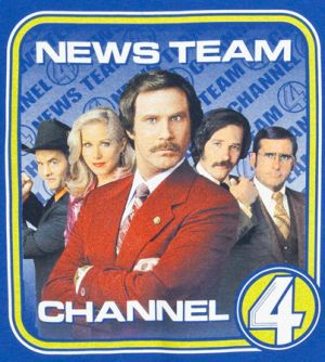 channel 4 news team t shirt Best Anchorman T Shirts