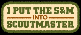i put the s and m into scout master t shirt I Put the S&M into ScoutMaster T Shirt