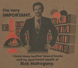 im very important tshirt Best Anchorman T Shirts