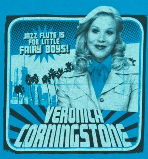 jazz flute is for little fairy boys veronica corningston tshirt Best Anchorman T Shirts