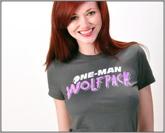 one man wolf pack snorg The Hangover T Shirts
