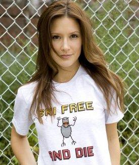 ski free and die tshirt Ski Free and Die Tee Shirt