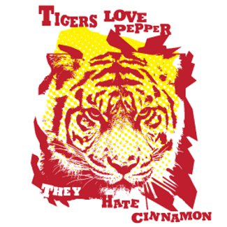 tigers love pepper they hate cinnamon donkeyts1 The Hangover T Shirts