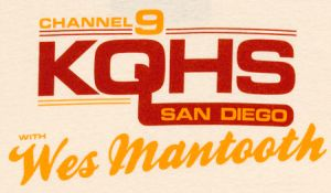 wes mantooth channel 9 KQHS san diego t shirt Best Anchorman T Shirts
