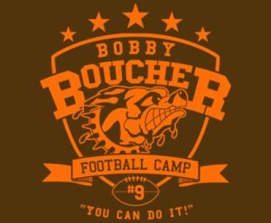bobby boucher football camp t shirt Best Funny Football T Shirts