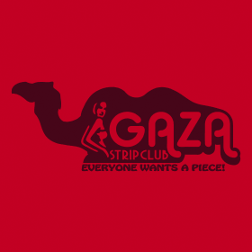 gaza strip club everyone wants a piece t shirt Shop Review: Homebrewed Tees Out of the Tap Strong