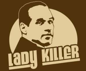 ladykiller oj t shirt Best Funny Football T Shirts