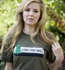 lone pine mall back to the future t shirt Back to the Future  Lone Pine Mall T Shirt