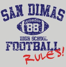 san dimas football3 Best Funny Football T Shirts