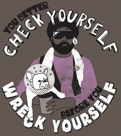 you better check yourself before you wreck yourself t shirt Best Funny Due Date T Shirts from the Movie