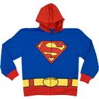 Superman Costume Hoodie Super Hero Halloween Costume Hoodies
