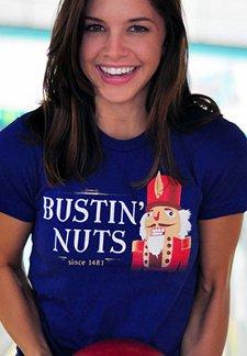 bustin nuts since 1481 t shirt1 Nutcracker Bustin Nuts Since 1481 T Shirt