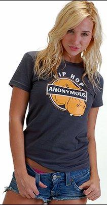 hip hop anonymous t shirt Big Daddy Hippopotamus Hip Hop Anonymous T Shirt