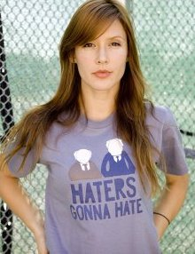 muppets haters gonna hate t shirt The Muppets Statler and Waldorf Haters Gonna Hate T Shirt