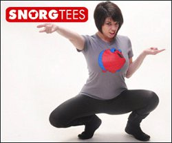 snorg model ashley pridgen Meet Snorg Tees Model Ashley Pridgen