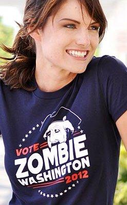 vote zombie washington 2012 t shirt Vote Zombie Washington 2012 T Shirt