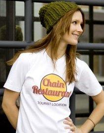 chain restaurant tourist location t shirt Chain Restaurant Tourist Location T Shirt