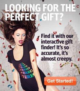 headline shirts holiday gift finder 2010 Headline Shirts Holiday Gift Finder is Creepy Accurate