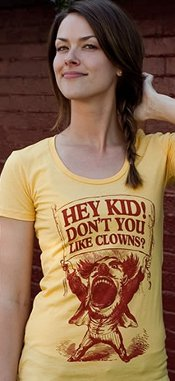hey kid dont you like clowns t shirt Hey Kid Dont You Like Clowns T Shirt