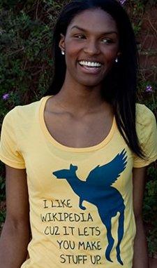 i like wikipedia cuz it lets you make stuff up t shirt I Like Wikipedia Cuz It Lets You Make Stuff Up T Shirt