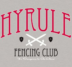 legend of zelda hyrule fencing club t shirt Legend of Zelda Hyrule Fencing Club T Shirt