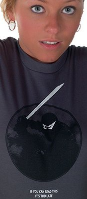 ninja if you can read this its too late t shirt Best Funny Ninja Shirts on the Web For Your Stealthy Dangerous Pleasure