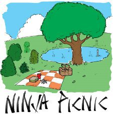 ninja picnic t shirt Best Funny Ninja Shirts on the Web For Your Stealthy Dangerous Pleasure