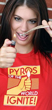 pyros of the world ignite t shirt Pyros of the World Ignite T Shirt