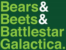 bears beets battle star galactica t shirt The Office Bears & Beets & Battle Star Galactica T Shirt