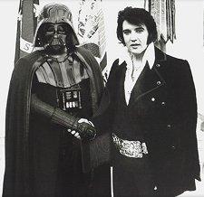 darth vader elvis meet t shirt Elvis Meets Vader T Shirt