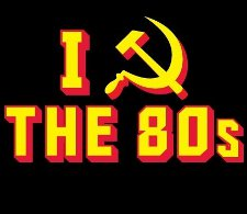 i hammer sickle the 80s t shirt I Heart Hammer and Sickle the 80s T Shirt